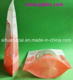 Bolso plástico Ziplock del alimento del sello lateral cuatro
