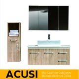 Meubles modernes simples de salle de bains de Module de salle de bains de vanité de salle de bains en bois solide de type (ACS1-W02)