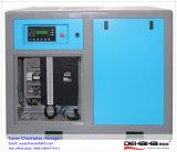 Совмещенный баком компрессор винта 11kw 15HP управляемый поясом