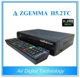 CPU puissante exécutant les doubles tuners combinés du système d'exploitation linux E2 Hevc/H. 265 DVB-S2+2*DVB-T2/C de récepteur de Zgemma H5.2tc TVHD