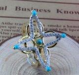 De AMERIKAANSE CLUB VAN AUTOMOBILISTEN CZ 925 van de Manier van de in het groot Vrouw van Juwelen Zilveren Reeks (S3284)