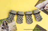 Vente en gros Arylic Sweet Dots Tricot Warm Pet Socks