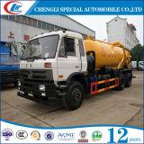 caminhão de alta pressão da sução da água de esgoto do vácuo 5cbm