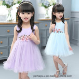 Crianças Summer Girls Princess Dress Kids Sweet Dress