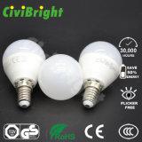 SMD 2835 글로벌 전구가 G45에 의하여 E14 5W LED 점화한다