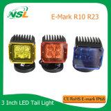 El LED que trabaja el punto ligero de la viruta del CREE 16W/la viga de la inundación se aplica a los coches campo a través autos