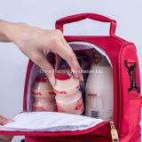 Мешок пикника плеча обеда Nylon коробки охладителя портативный изолированный