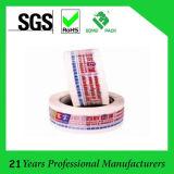 Marchio del nastro dell'imballaggio di BOPP stampato con il nastro adesivo appoggiante colorato