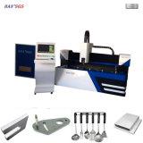 Machine de découpe au laser à fibre 3000 * 1500mm / coupe-laser GS-Lfd3015