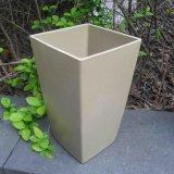 Crisoles de flor de bambú respetuosos del medio ambiente de la fibra y crisol colorido del plantador (BC-FP1009)