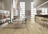 Bauholz-Holz glasig-glänzende Porzellan-Fliese für Wand und Fußboden (LF02)