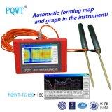 Pqwt-Tc150 가장 새로운 1개의 단추 지하 물 검출기 자동적인 지도로 나타내는 계기