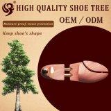 Arbre en bois lisse personnalisé réglable de chaussure