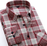Het Overhemd van de Plaid van Cutton van vijf Verfhandelaars