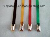 Haltbarer Selbstverschlossene Edelstahl-Kabelbinder