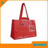 Sac bon marché de traitement d'emballage tissé par pp de sac à provisions