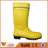 Caricamenti del sistema impermeabili di gomma degli uomini del caricamento del sistema di pioggia di colore giallo