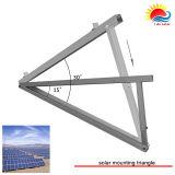 Corchete solar superior del estante de las instalaciones de la azotea (Q12)