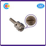 Нержавеющие винты прорезанной головки Steel/4.8/8.8/10.9 Chorme для винтов машинного оборудования/индустрии