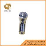 Golpecito de cobre amarillo femenino de la cuerda de rosca masculina/válvula de ángulo de cobre amarillo