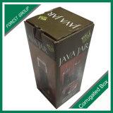 Sola botella de cristal de empaquetado del regalo Cajas para vino