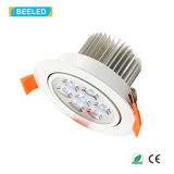 La alta calidad 7W refresca la luz blanca Dimmable LED Downlight del punto