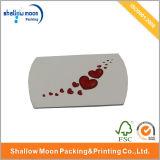 Kundenspezifischer Luxuxpapierkissen-verpackender Papierkasten (QYCI15201)