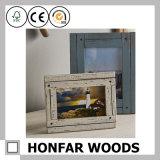 Cadre de tableau en bois personnalisé de Stok d'art de mur