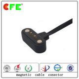 2pin imperméabilisent la prise d'alimentation magnétique avec le câble dans le moteur servo
