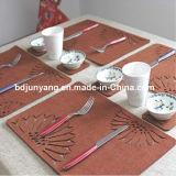 Práctico de costa de la taza del fieltro de los colores el 100% del resorte para el tablero de la mesa y las decoraciones