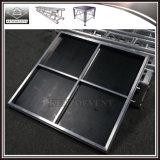 Fase portatile resistente per il concerto con il blocco per grafici di alluminio