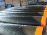 Alquitrán de carbón de epoxy anticorrosión y usado para el tubo del acero del drenaje