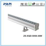 LED移動ヘッドRGBW洗浄ライト、LEDの壁の洗濯機ライト