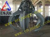 Garra Multi-Pedaled hidráulica da Multi-Pétala da garra da forma dos lótus do motor do uso da central energética
