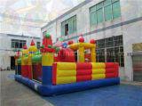 Campo de jogos inflável da classe comercial, parque de diversões do miúdo para vendas