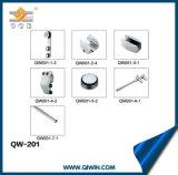 샤워 기계설비 (QW-201)의 미닫이 문 거는 바퀴