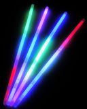 Pulseras plásticas del resplandor de los juguetes con tricolor (SZT5200-3)