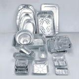 Устранимый алюминиевый контейнер алюминиевой фольги для Roasting