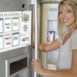 Fotos de Instagram de la impresión de la etiqueta engomada del calendario del refrigerador para el refrigerador
