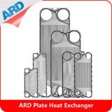Plaque H17 N35 J107 Ss304 Ss316 AISI304 d'échangeur de chaleur de plaque d'Apv
