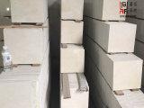 Широко используемые плитки Crema Marfil бежевые мраморный для плакирования настила/стены