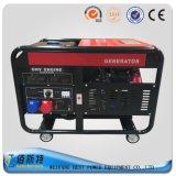 Gerador pequeno de refrigeração ar da gasolina da energia 5kVA eléctrica