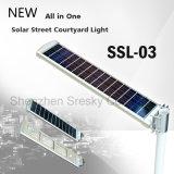 luz de rua solar do diodo emissor de luz 10W-50W com o melhores pátio do preço e lâmpada da estrada