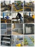 ステンレス鋼の高品質の溶接された長方形の火格子のパネル