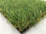 Césped sintetizado de mirada natural/césped realista de /Landscape de la hierba del jardín