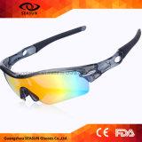 2017 komprimierende Glas-Form und populäre komprimierende Schutzbrillen, die Sport-Sonnenbrillen für Verkauf komprimieren