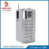 éclairage de secours radio fm rechargeable portatif de SMD DEL USB