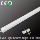 표면은 LED 선형 내각 빛 전시 빛을 거치했다
