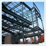 China-Stahlkonstruktion-Entwurfs-vorfabrizierter Baumaterial-Stahlrahmen