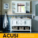 Nuova vanità semplice all'ingrosso Premium della stanza da bagno di legno solido di stile (ACS1-W49)